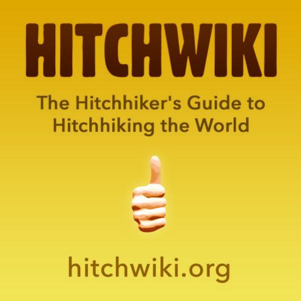 Hitchwiki sticker